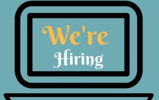 We are hiring logo